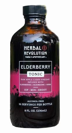 Herbal Revolution Farm Elderberry Tonic