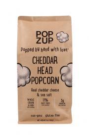 Popzup Cheddar Head Popcorn