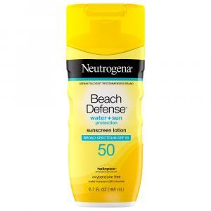 Neutrogena Beach Defense Sunscreen Lotion SPF 50