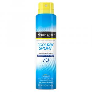 Neutrogena Cool Dry Sport SPF70 Sunscreen Spray