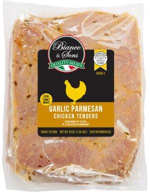 Bianco & Sons Garlic & Parmesan Chicken Tenders