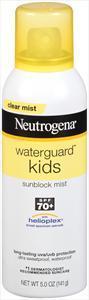 Neutrogena Water Guard Kid's Sunblock Spray Spf 70+