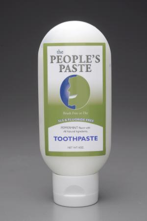 The Peoples Paste Peppermint Toothpaste