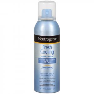 Neutrogena Fresh Cooling Sunblock Spray Spf 45