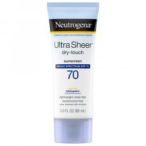 Neutrogena Ultra Sheer Sunblock SPF 70