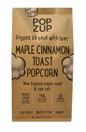 Popzup Maple Cinnamon Toast Popcorn
