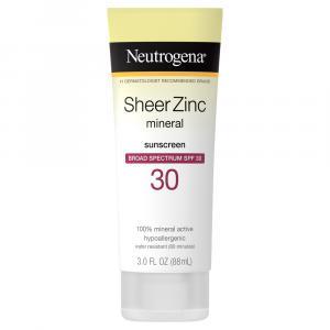 Neutrogena Sheer Zinc Lotion SPF 30
