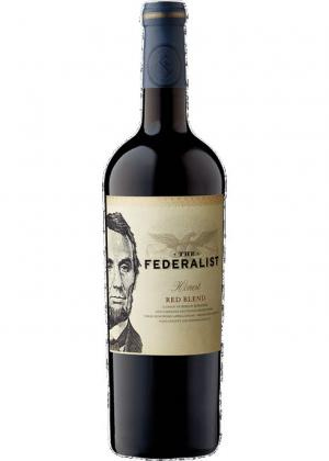 The Federalist Red Blend Aged in Bourbon Barrels