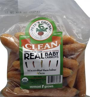 Organic Clean Real Baby Carrots