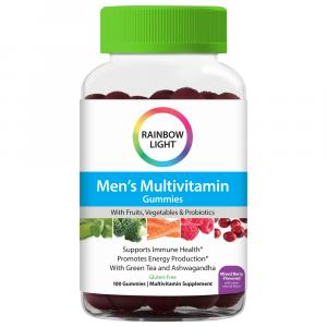 Rainbow Light Men's Multivitamin Gummies Mixed Berry
