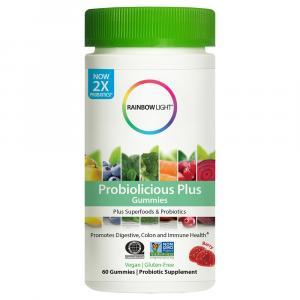 Rainbow Light Probiotic Plus Gummies Berry