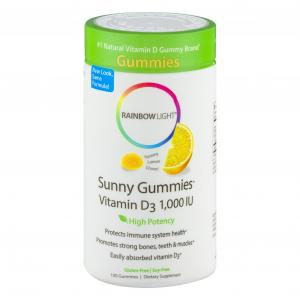 Rainbow Light Vitamin D Gummy 1000IU