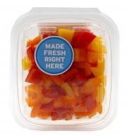 Diced Orange, Yellow, and Red Pepper Veggie Pack