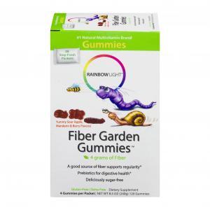 Rainbow Light Fiber Garden Gummies