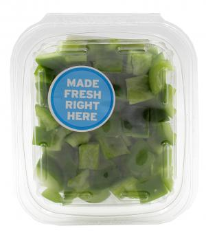 Diced Green Peppers Veggie Pack