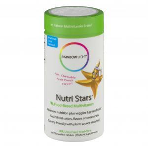 Rainbow Light NutriStars Childs' Multivitamin Chewables