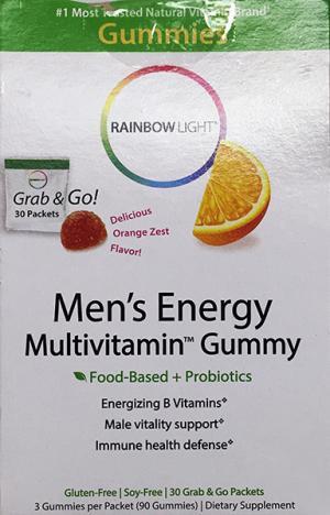 Rainbow Light Men's Energy Multivitamin Gummy