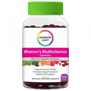 Rainbow Light Women's Multivitamin Gummies Mixed Berry