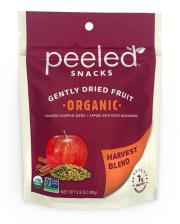Peeled Snacks Organic Harvest Blend Gently Dried Fruit