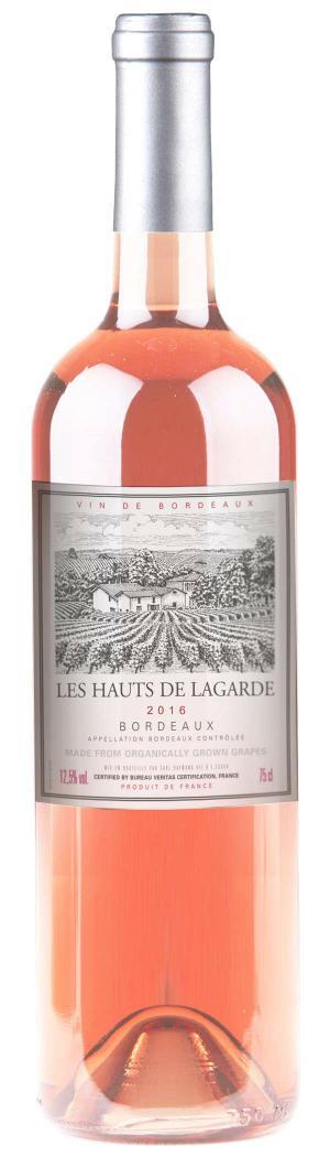 Les Hauts de Lagarde Bordeaux Rose Wine