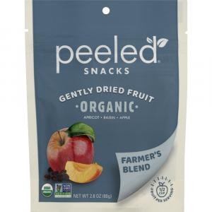 Peeled Snacks Organic Farmer's Blend Gently Dried Fruit