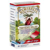 Humphreys' Cherry Teething Strips