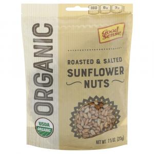Good Sense Organic Roasted & Salted Sunflower Nuts