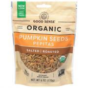Good Sense Organic Roasted & Salted Pumpkin Seeds Pepitas