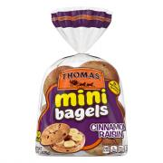 Thomas' Cinnamon Raisin Mini Bagels
