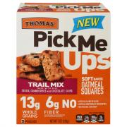 Thomas' Pick Me Ups Trail Mix Oatmeal Squares