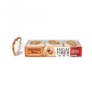 Thomas' High Fiber Plain English Muffins