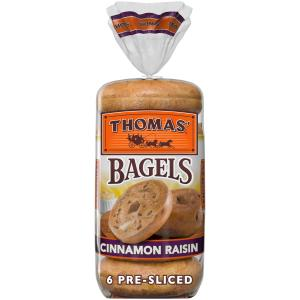 Thomas' Cinnamon Raisin Bagels