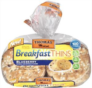 Thomas' Blueberry Breakfast Thins Rounds