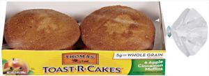 Thomas' Apple Cinnamon Toast-r-cakes