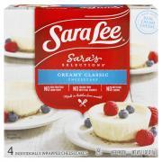 Sara Lee Creamy Classic Cheesecake