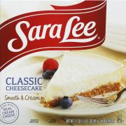 Sara Lee Original Cheesecake