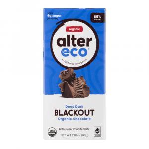 Alter Eco Chocolate Organic Dark Blackout