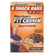 Fit Crunch Gluten Free Caramel Peanut Whey Protein Bars