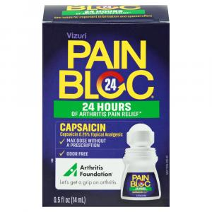 PainBloc24 Roll On Pain Relief with Capsaicin