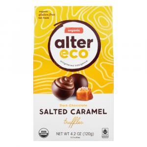 Alter Eco Organic Dark Chocolate Salted Caramel Truffles