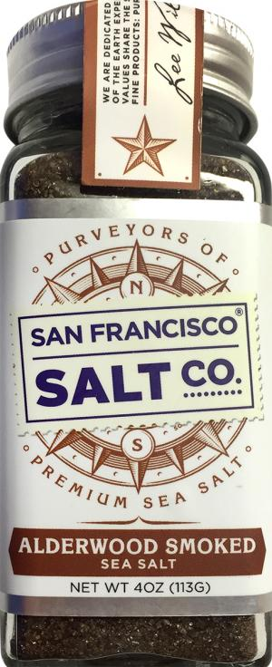 San Francisco Salt Co. Alderwood Smoked Sea Salt Shaker