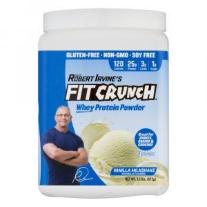 Fit Crunch Vanilla Milkshake Whey Protein Powder