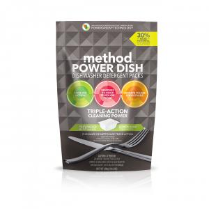 Method Power Dish Dishwasher Packs Lemon Mint