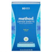 Method Dryer Sheets Fresh Air Scent
