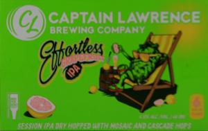 Captain Lawrence Brewery Effortless Grapefruit IPA