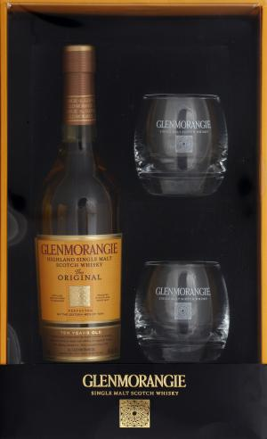Glenmorangie 10 Year Old Scotch Gift Pack