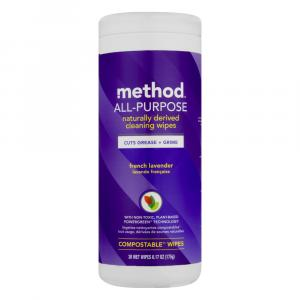 Method All Purpose Cleaning Wipes Lavender