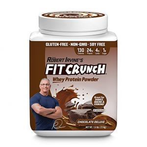 Fit Crunch Chocolate Deluxe Whey Protein Powder
