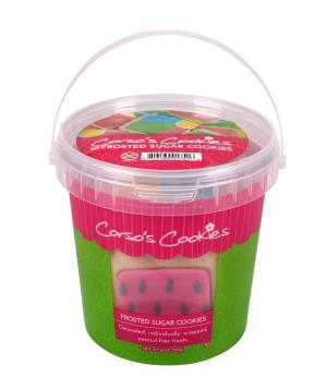 Corso's Cookies Summer Picnic Frosted Sugar Cookie Pail