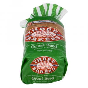 Three Bakers Gluten Free Great Seed Bread